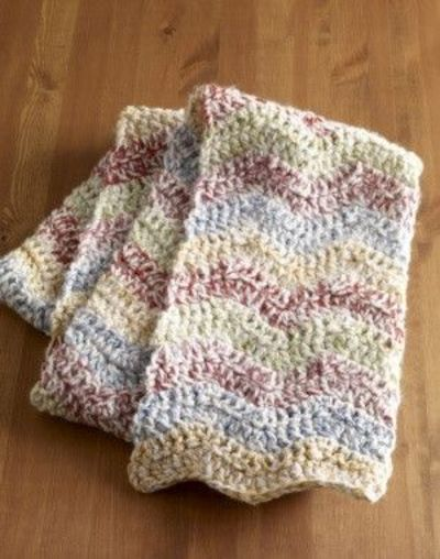Ripple Stitch Knitting Pattern Scarf : crochet ripple scarf pattern / crochet ideas and tips - Juxtapost