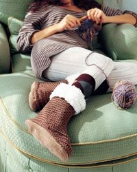 Ugg Boots Pattern found in the Jan/Feb 2009 issue of Crochet Today
