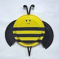 Paper Plate Bumble Bee