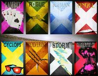 Awesome Minimalistic X-Men Character Posters