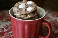 hot chocolate cookies!