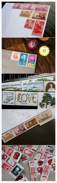 Vintage Stamps and how to find them