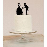 Ready for 15 of the cutest wedding cake toppers you've ever seen from Etsy and Wedzu?!?