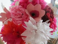 Fun with Paper Flowers- Success! on http://blog.craftio.com