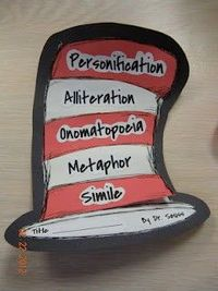 Great Suess foldable book...under each flap is an example and definition of each