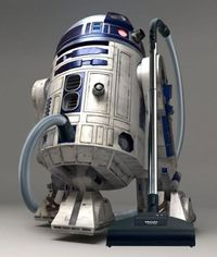 Ha!! R2D2 Vacuum cleaner