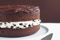 This is the MOST delicious chocolate cake EVER!!! My suggestion, make it in a bunt cake pan... :)