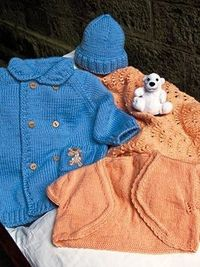 Baby Milk Designs 9, 10, & 11 by Knitting Fever, free download