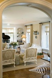 Love arched entry