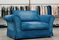 Denim Sofa looks like ours