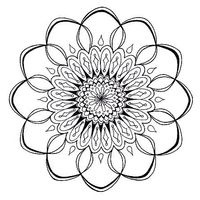 I love mandalas! This site has tons to print and color.