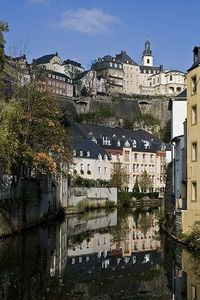 In the heart of Grund (by macropoulos) luxembourg.