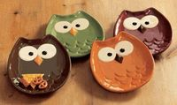 Owl snack bowls!