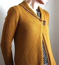 Larch Cardigan. My current project, hopefully it will be done by the time I'm the size to wear it again.