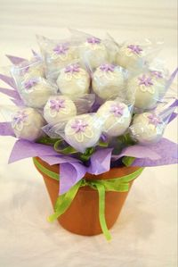 cake ball bouquet