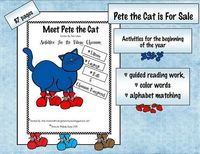 Pete the Cat unit for purchase on TPT