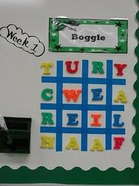Easy boggle board