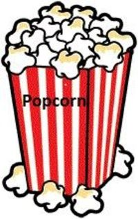 Free ABC or 123 popcorn game for preschoolers