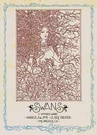 SWANS 2011 / cm. 50 x 70 - 3 colours on heavy paper - ltd of 150 by Malleus #Malleus