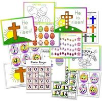 Easter activity printables
