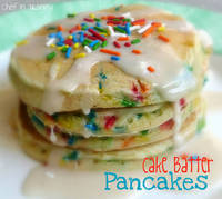 Chef in Training: Cake Batter Pancakes