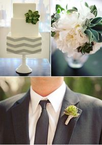 love the chevron cake!