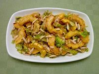 Warm Brussels Sprouts and Delicata Squash Salad