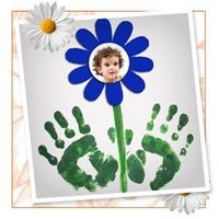 another hand print idea!