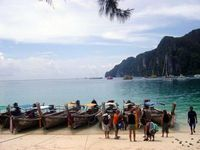 Backpacking through Southeast Asia.