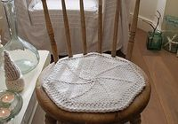 fairy star chair mat by tiny owl knits