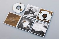 Very cool duotone CD packaging