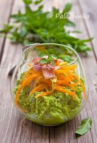 Pea Puree With Carrots