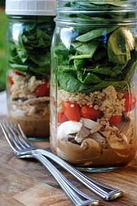 : Salad in a Jar - SRC