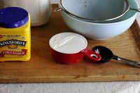 How to make Cake Flour! via Joy the Baker