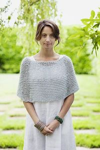 Shoulder Cozy by Churchmouse Yarns and Teas