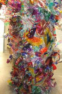 """Plastic """"Chihuly"""""""