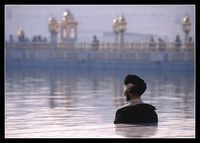 Silent Prayer / Amritsar, India,