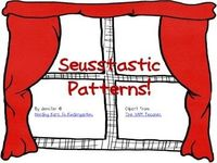 Free!! Seuss patterns & color sheets!