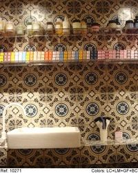 Mosaic Tile Wall - 10271 ref #