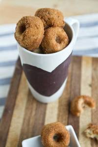 Whole Wheat Banana Nut Mini Doughnuts Naturally Ella