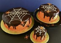 Creepy Cakes: When pumpkin is added to this chocolate cake recipe, it lends an earthy depth making these seasonal Creepy Cakes extra festive. A ghoulishly delightful pinch of cinnamon in the chocolate ganache enlivens the flavor - it's enough to awa...