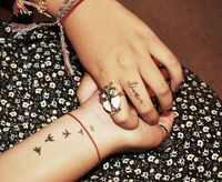 i love small tattoos