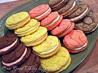 cake box sandwich cookies