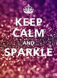 Everyone should sparkle!!