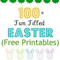 free printables for Easter