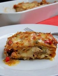 Chicken Tortilla Casserole.