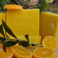 Florida Citrus Sunshine & Mango Butter Soap $10.00