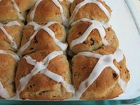 Gluten-Free Hot Cross Buns at Lifetime Moms