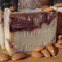 Almond Hazelnut &Organic Acai Berry Butter Soap! $9.50