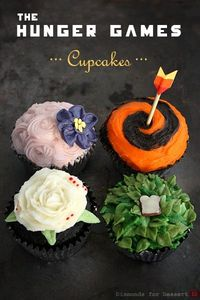 Recipe: Hunger Games Cupcakes #cupcakes #recipe #HungerGames